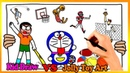 Nobita Doraemon Play Sports Coloring Pages | Painting and Drawing For Kids Vs Jolly Toy Art ☆ 246
