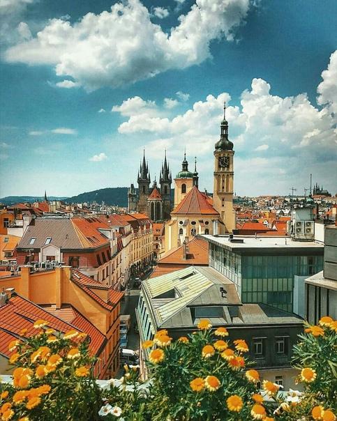 Тур в Прагу на 4 ночи с завтраками за 12200 c человека