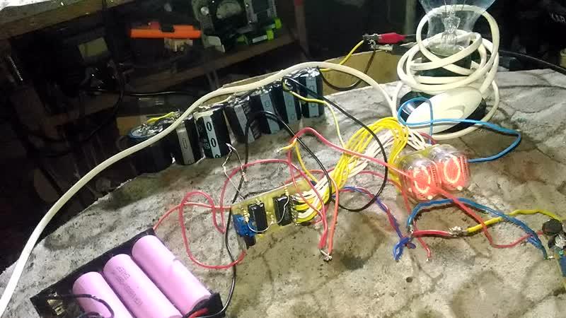 уровень заряда конденсаторов