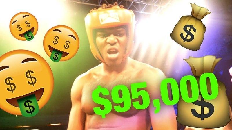WINNING $95,000 ON KSI VS WELLER | ВЫИГРАЛ 95.000$ НА БОЕ KSI против УЭЛЛЕРА [Русская озвучка]
