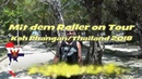 Rollertour Koh Phangan Thailand 2018 Inselrundfahrt und Sightseeing