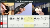 The Entertainer - (Scott Joplin) - Chet Atkins - Guitar Tutorial Slow Played Tabs &amp Score