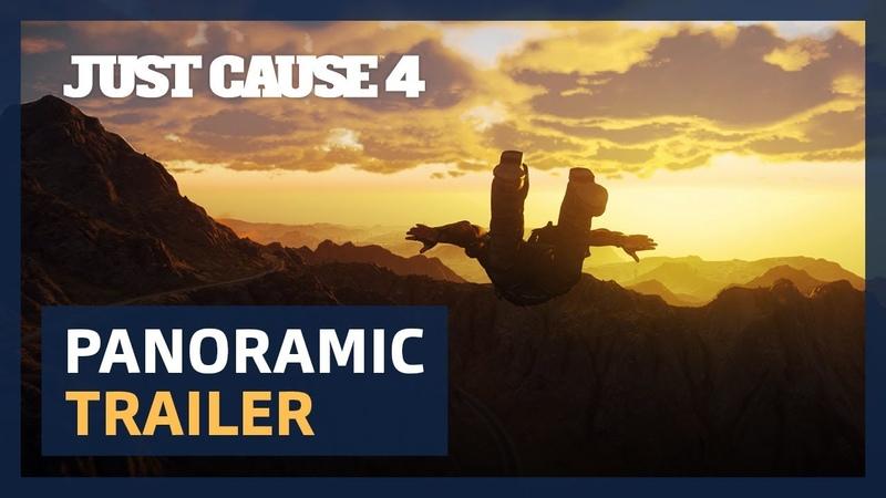 Just Cause 4 Panoramic Trailer [4K UltraWide][PEGI]