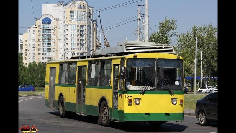 Поездка на троллейбусе г.Липецк ВЗТМ-5284.02 № 128 — маршрут 1