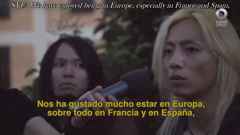 Galneryus Interview en Central 11 (Mexican TV) [Eng Sub日本語字幕] HD