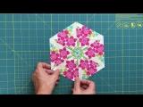 Video tutorial- Kaleidoscope quilt - hexagon quilt blocks