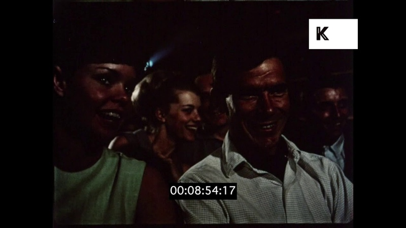 1950s, 1960s Cinema Audience, HD from 16mm