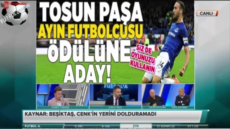 Futbol A 1. Kısım - Erol Kaynar, Selim Soydan ve Evren Turhan Yorumları 5 NİSAN 2018