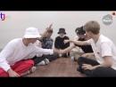 180905 BANGTAN BOMB BTS IDOL MV reaction TaeKook moments