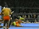 1996 03 02 Akira Taue Toshiaki Kawada c vs Jun Akiyama Kenta Kobashi