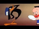 Looney Tunes (Porky Pig, Pato Lucas) - Baby Bottleneck (Audio Latino)