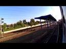 FHD. Винница-Грузовая – Винница. Вид из открытого окна электропоезда ЭР9Е-631 №827 Киев – Жмеринка