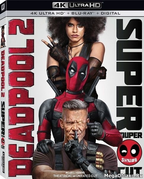 Дэдпул 2 [Театральная и Расширенная] / Deadpool 2 [THEATRICAL & The Super Duper Cut] (2018/BDRip/HDRip)
