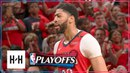 New Orleans Pelicans Full Highlights vs Trail Blazers - Game 4 April 21, 2018 2018 NBA Playoffs