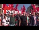 Москва. Люди кричат «революция»