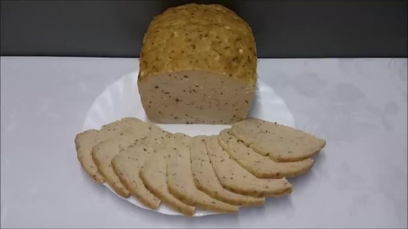 Мясной хлеб на бутерброды Лучше всякой колбасы
