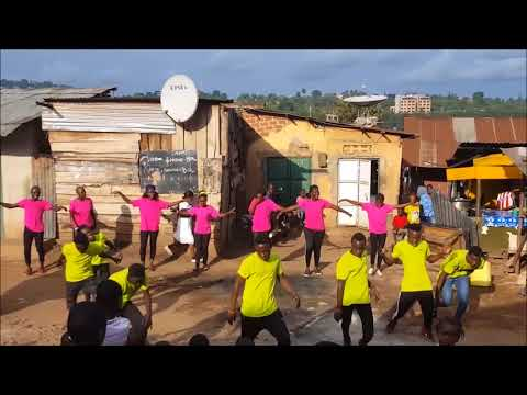 Netta Toy dance by Spoon Youth Uganda Eurovision 2018 Israel