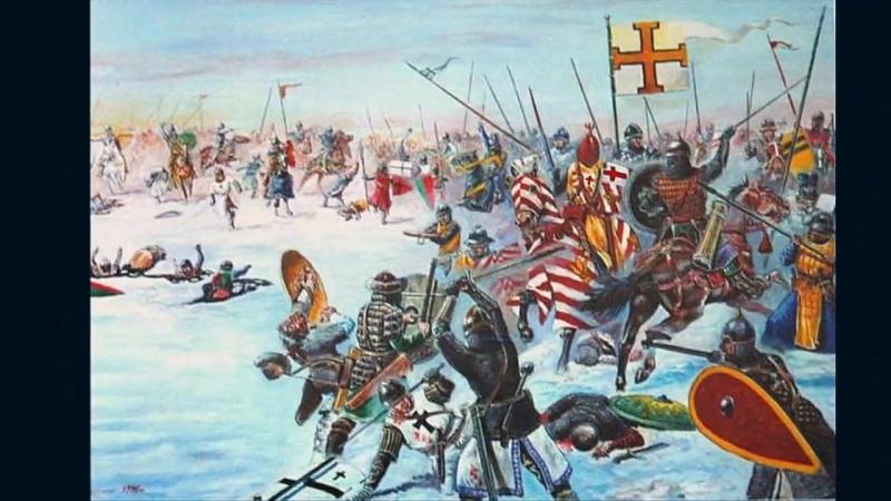 История России. Ледовое побоище 5 апреля 1242 года