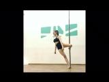 Выход в Русский шпагат из Питер Пена Pole Dance Style