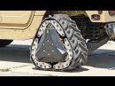 DARPA's Reconfigurable Wheel Tracks Go From Wheel To Track