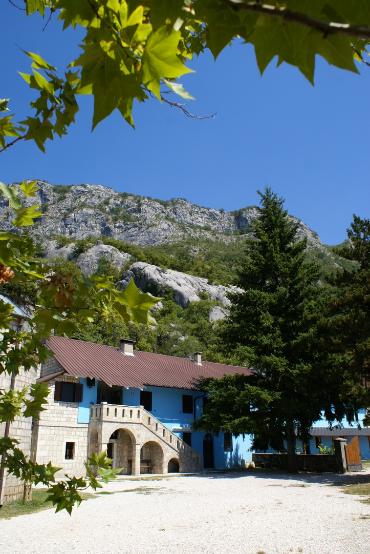 Ostrog - the most famous monastery in the Balkans, therefore, a rock, here, a monastery, a monastery, a place like Ostrog, a temple, several, enough, you can, pilgrims, car, part, monastery, very, easy, sometimes,