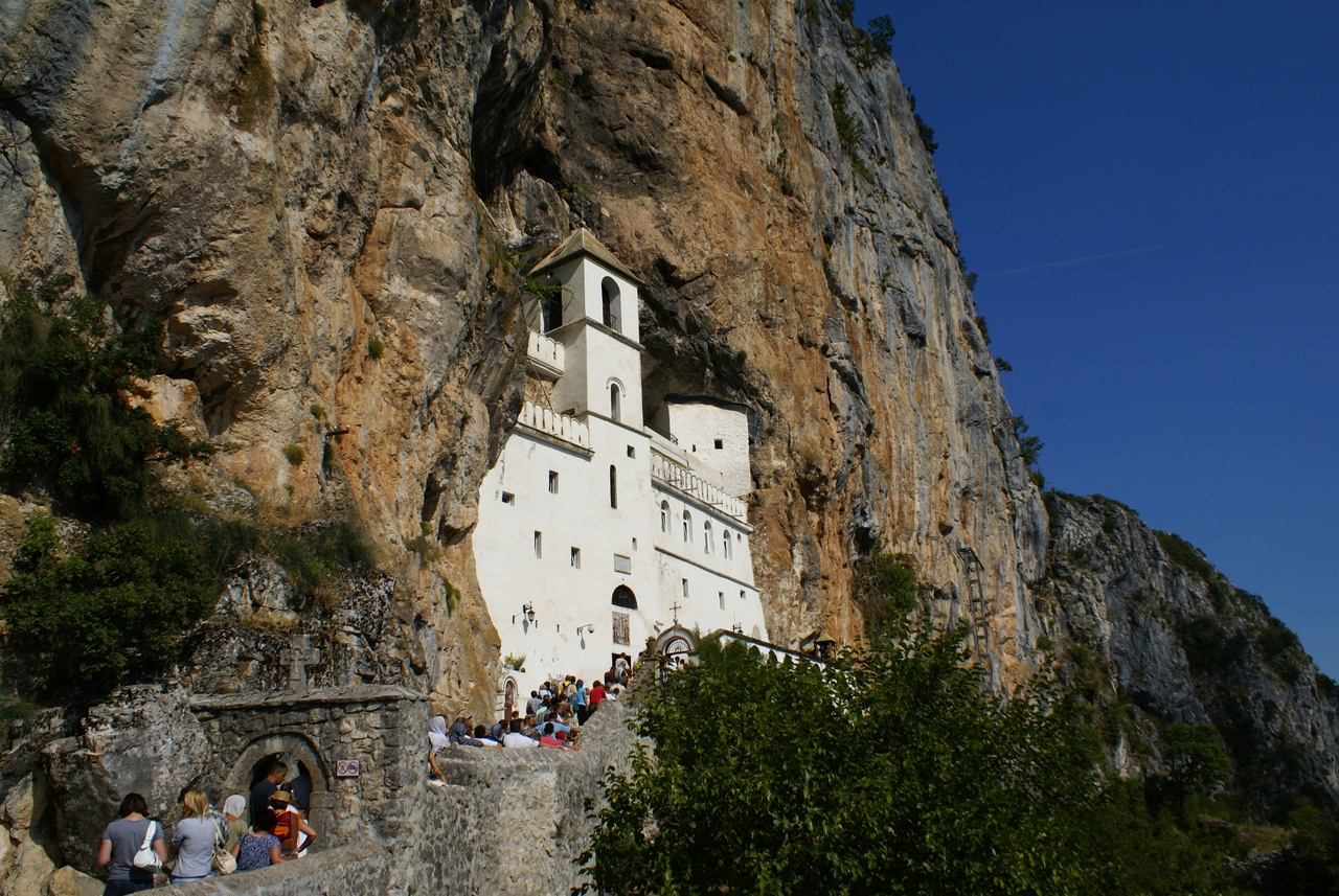 Ostrog - the most famous monastery in the Balkans