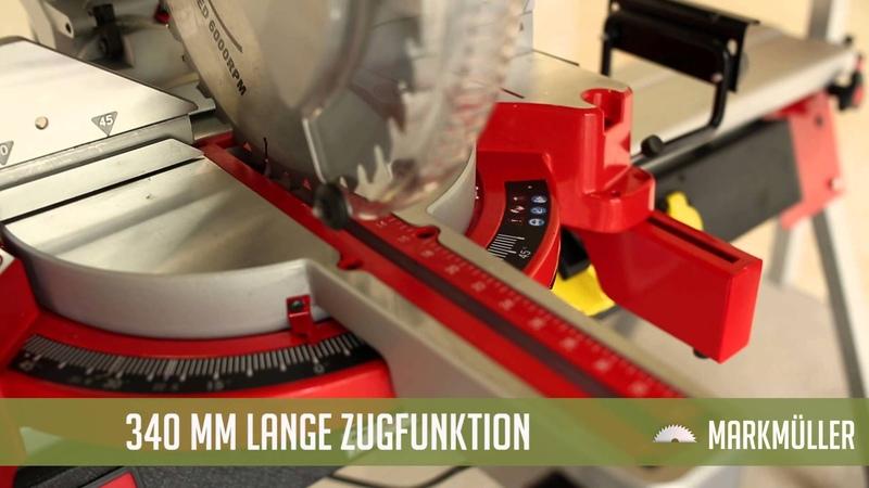 Holzmann Zug- Kapp- und Gehrungssäge KAP 305JL