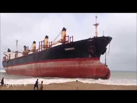 Корабли Выбрасываются на Берег. Утилизация Кораблей