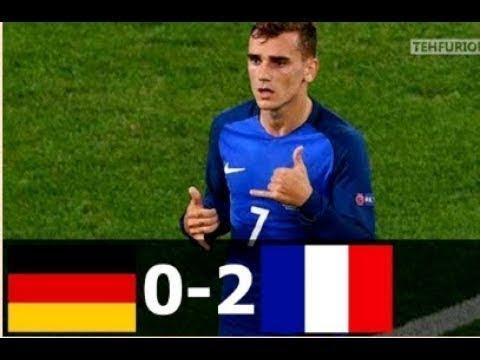 🔥 Франция - Германия 2-0 - Обзор Матча Полуфинал Чемпионата Европы 07/07/2016 HD 🔥