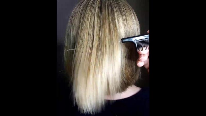 Блеск, сияние и восстановление волос после процедуры Ботокс от Fox professional. Эффект сохраняется до 6 месяцев 👌