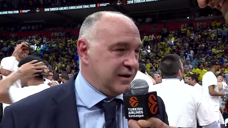 Post-game interview Coach Laso, Real Madrid