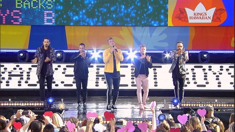 Backstreet Boys - 'Everybody' Live on 'GMA'