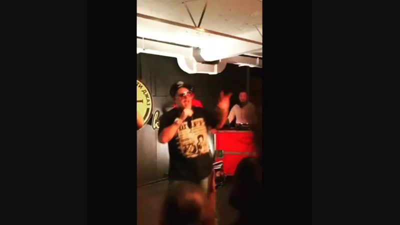 Группа Bad Balance исполнила трек Мы Не Любим Когда в Калининграде 12 октября 2018 г видео