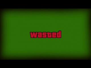 Футаж__GTA_5_Wasted__ХромакейBredTV_Show9