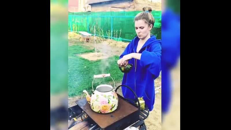 Когда просто решила приготовить чай на костре Вуншпунш