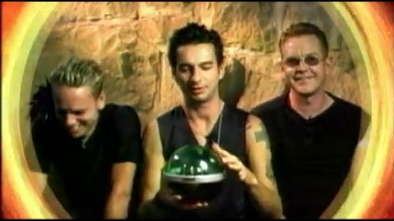 Depeche Mode VIVA COMET 2001