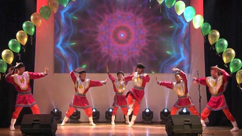 Ансамбль Алтан ураг - мнгольский танец Чингсхан. Гала-концерт ДНК в ТПУ. 2018