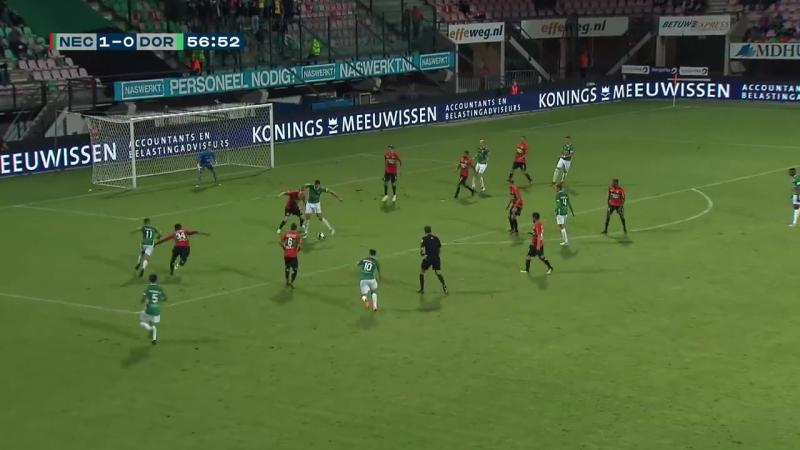 Samenvatting N.E.C. - FC Dordrecht (31-08-2018)