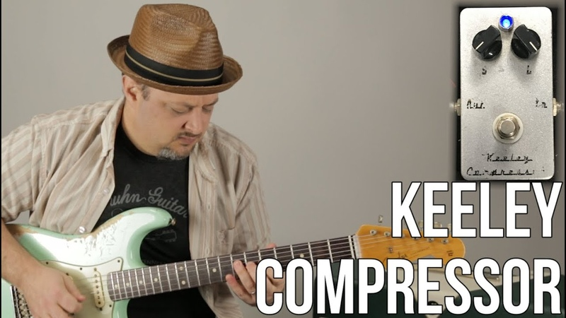 Guitar Compressor Pedal - Keeley Compressor - Pedals Effects - Marty's Thursday Gear Video