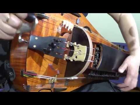 Dark Medieval Blues. Hurdy-Gurdy, Organ Drum