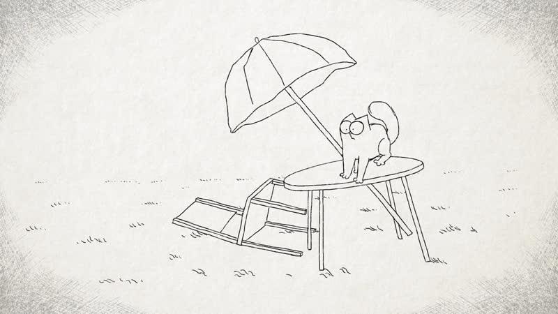 Кот Саймона • Сезон 1 • Ветреный день