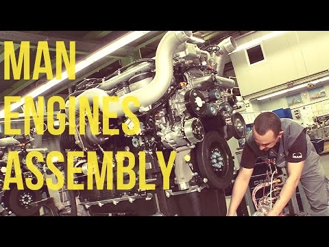 MAN Trucks Buses Engines Assembly