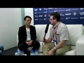 ALEKSEEV / Интервью для ESC.RUSSIA, Лиссабон, Португалия (03.05.18)