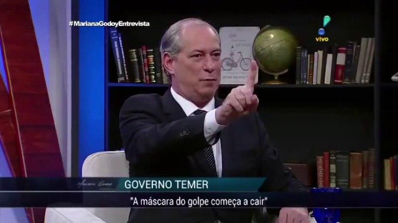 Ciro Gomes: Michel Temer e a crise dos combustíveis (assista até o final)