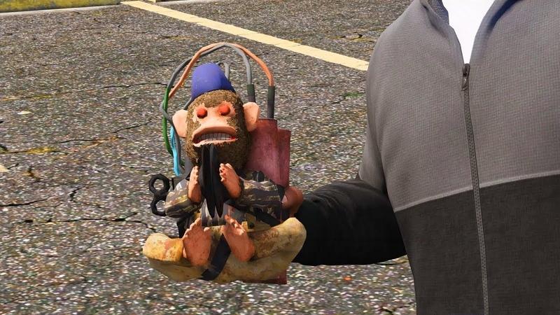 GTA 5 mod Call of Duty Black Ops III - Monkey Bomb by MEDUSA [Remastered]
