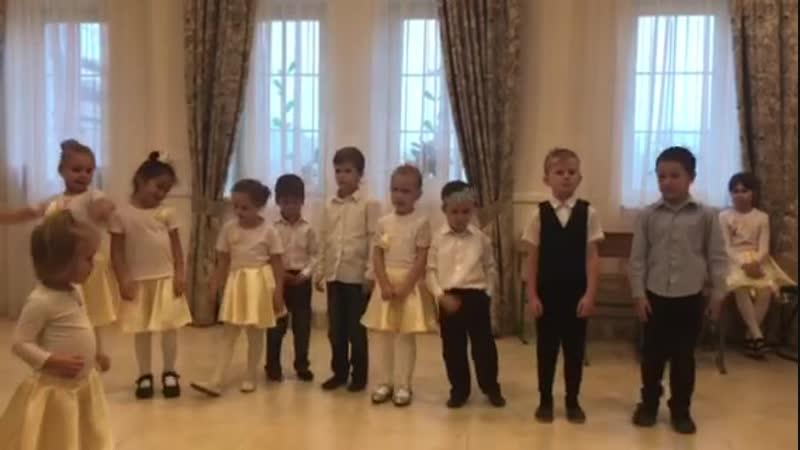 Грибочки (танец учащихся младшей группы Воскресной школы храма Сретения Господня)