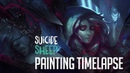 Stuck in Time | Digital Painting Timelapse