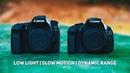 Canon 80D vs. Canon 600D Low Light | Slow Motion | Dynamic Range