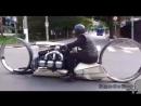 Самодельный мотоцикл с авиационным двигателем
