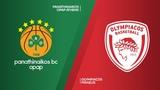Panathinaikos OPAP Athens - Olympiacos Piraeus Highlights   Turkish Airlines EuroLeague RS Round 6